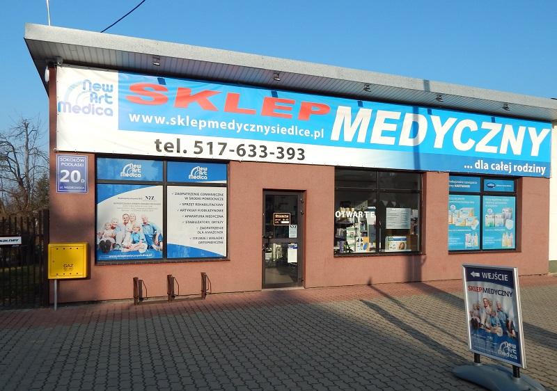 III Sokołów Podlaski ul. Węgrowska 20d tel. 517-633-393 e-mail: sklep3@newartmedica